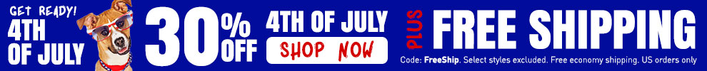 30% Off 4th of July Gear & Free Shipping!