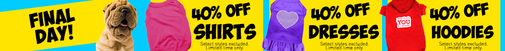 40% Off Shirts, Dresses, & Hoodies