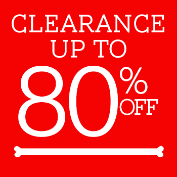 Save up to 80% Off Clearance!