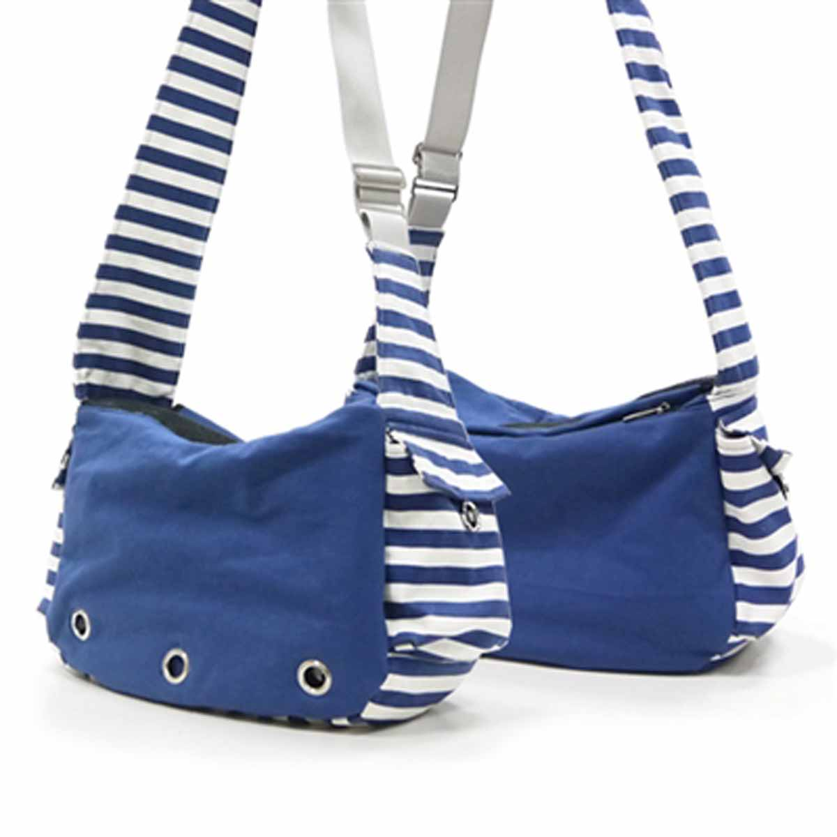 Soft Sling Bag Dog Carrier by Dogo - Blue | BaxterBoo