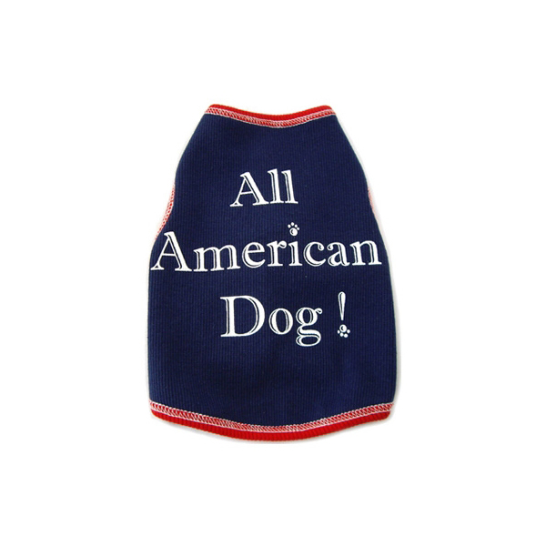 All American Dog Tank Top