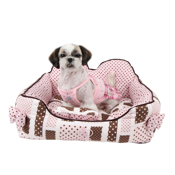 Almee Dog Bed by Pinkaholic - Pink