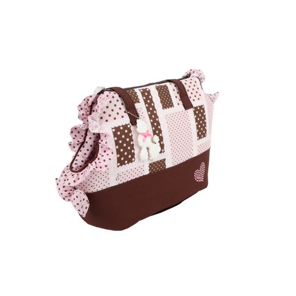 Almee Dog Carrier by Pinkaholic - Pink