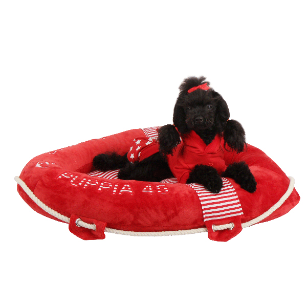 Alpha Dog Bed by Puppia - Red