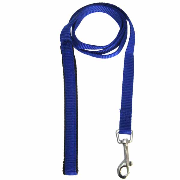 American River Cushion Grip Dog Leash - Royal Blue