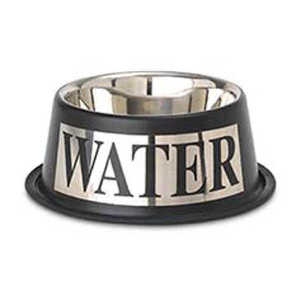 Antigua Stainless Steel Water Bowl