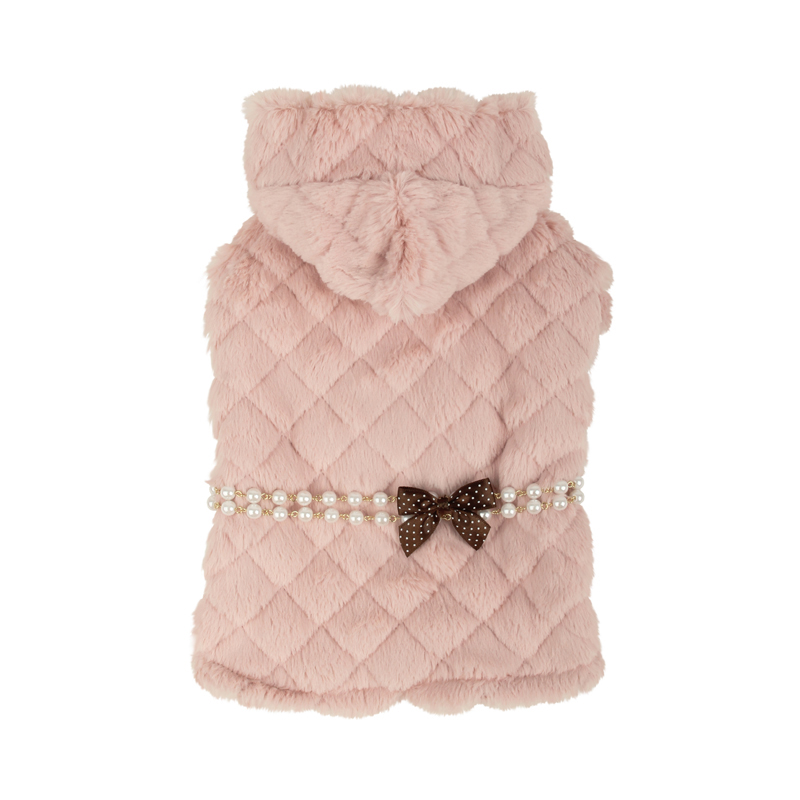 Arctic Cape Dog Coat by Pinkaholic - Pink