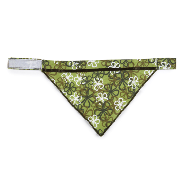 Aria Carolina Collection Dog Bandana - Green