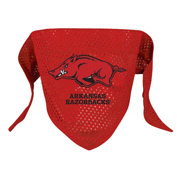Arkansas Razorbacks Mesh Dog Bandana