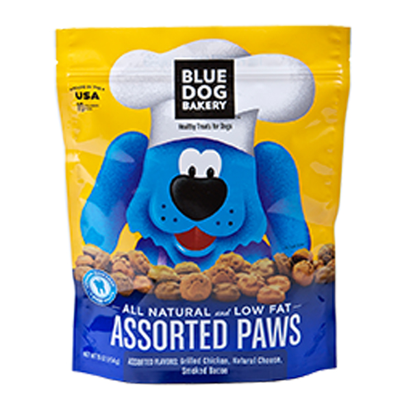 Assorted Paws Dog Treat from Blue Dog Bakery