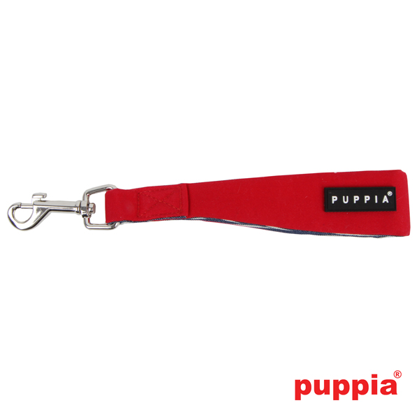 Atticus Dog Seatbelt Leash by Puppia - Red