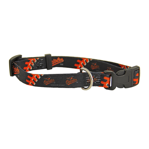 Baltimore Orioles Baseball Printed Dog Collar