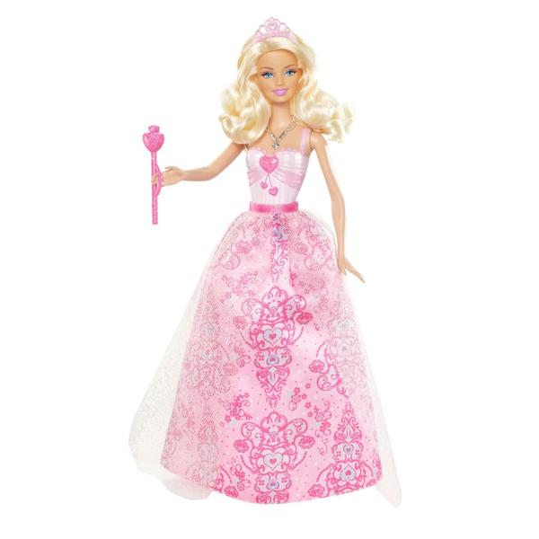 Barbie Dolls 2012 Princess Barbie Pink Dress Doll At Toystop