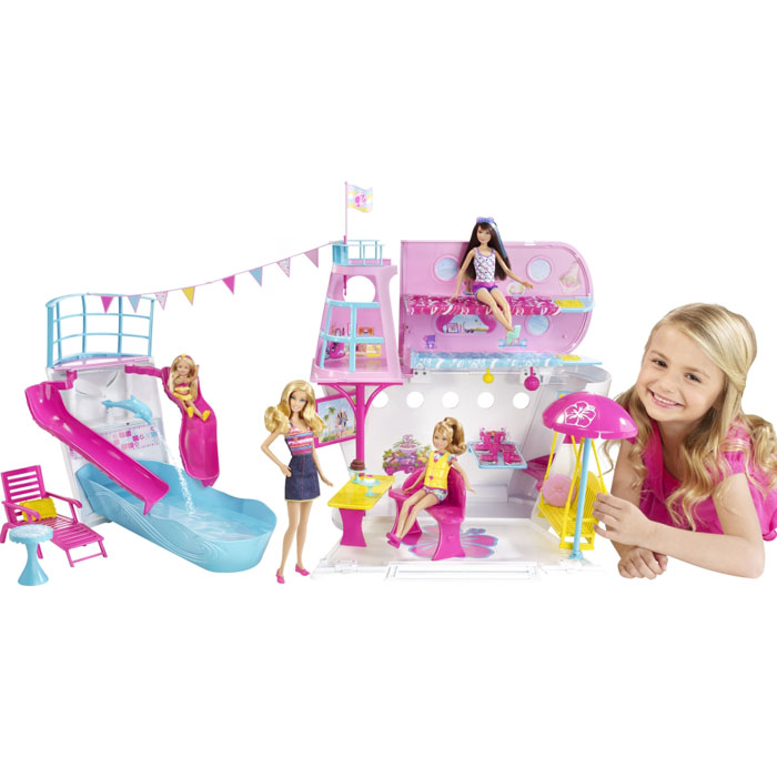 Toys For Sisters : Barbie toys sister s cruise ship playset at toystop