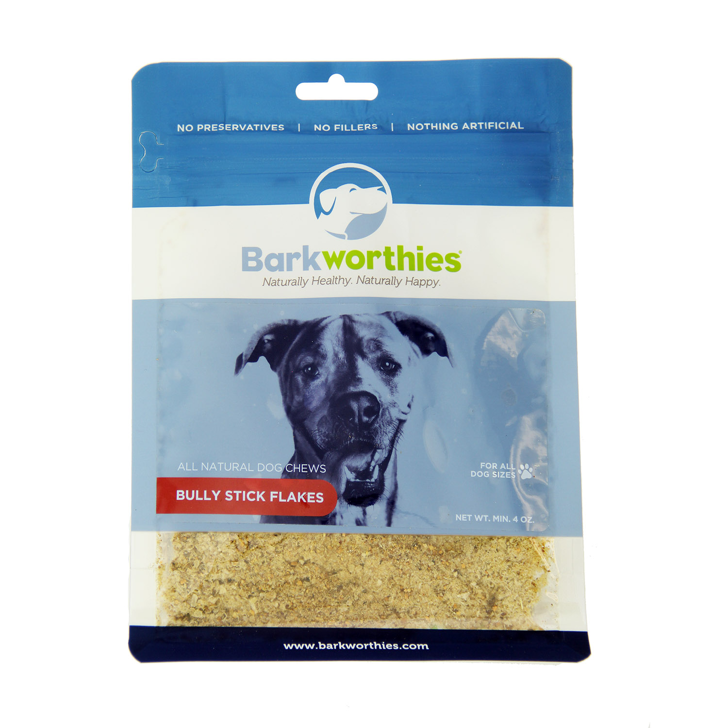 Barkworthies Bully Flakes Dog Food Topper