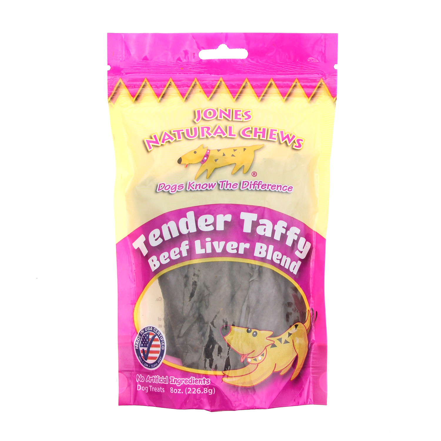 Beef Tender Taffy Dog Treat by Jones Gourmet