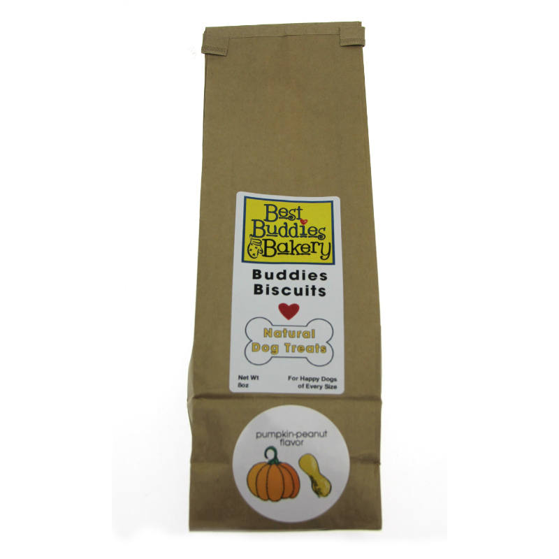 Best Buddies Bakery Dog Treats - Pumpkin/Peanut Butter