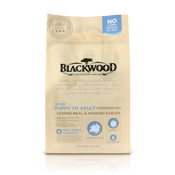 Blackwood Alternative Diet Dog Food - Catfish Meal & Pearled Barley
