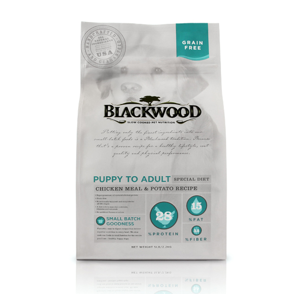 Blackwood Grain Free Holistic Dog Food - Chicken Meal & Potato
