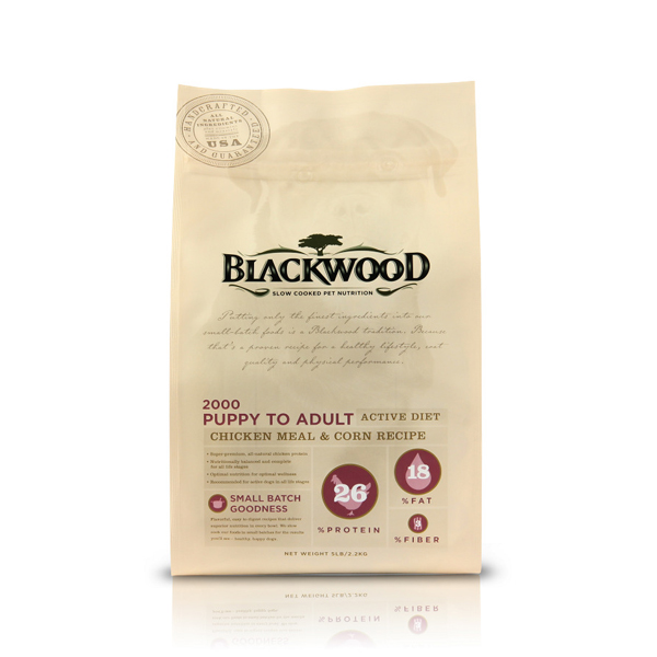 Blackwood Original Formula Active Dog Food - Chicken Meal & Corn
