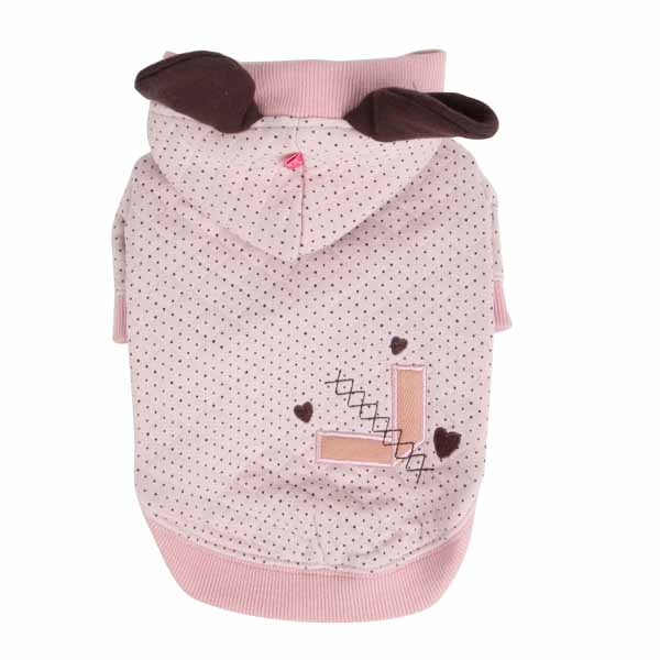 Blossom Dog Hoodie by Pinkaholic - Pink