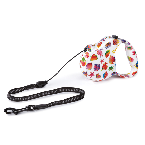 Boardwalk Retractable Dog Leash - Fun Fish