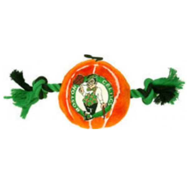 Boston Celtics Basketball Dog Toy