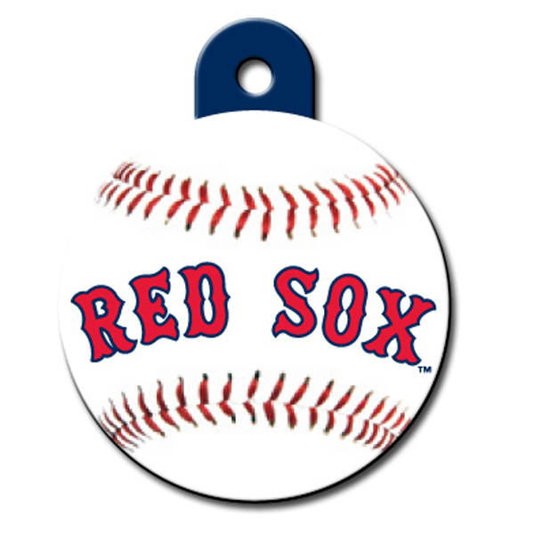Boston Red Sox Engravable Pet I.D. Tag