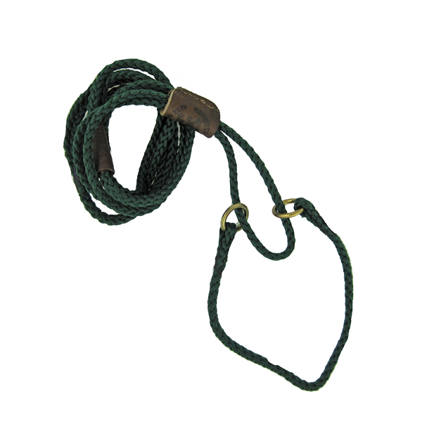 Braided Martingale Show Lead - Green