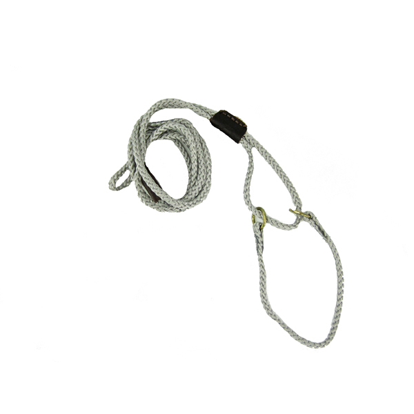 Braided Martingale Show Lead - Silver