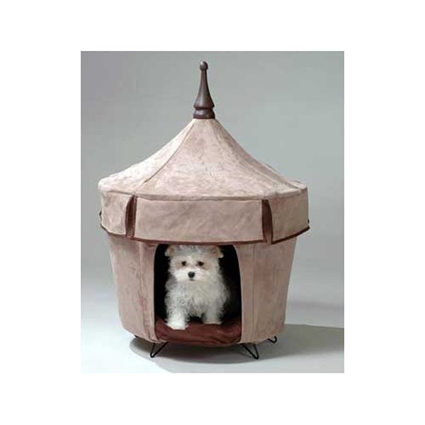 Cafe Au Lait Dog Bed Tent