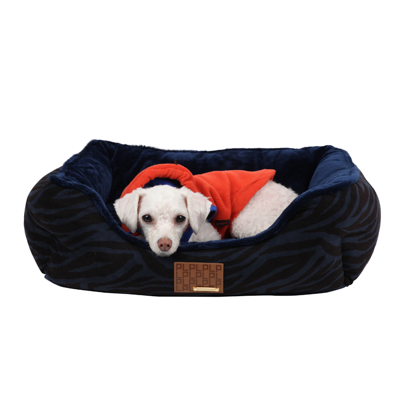 Caprice House Dog Bed by Puppia - Navy