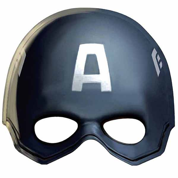 Captain America Party Supplies  Captain America Plastic Mask at