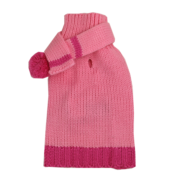 Cashmere Scarf Sweater by Dogo - Pink