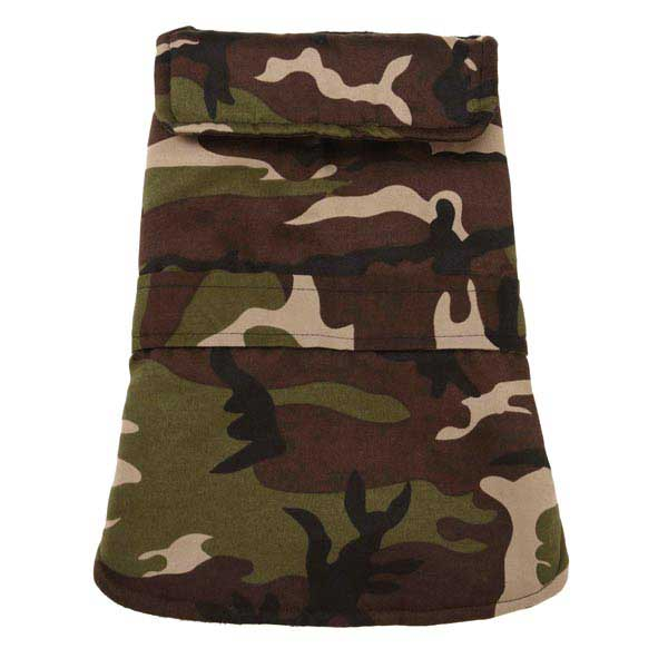 Casual Canine Camo Barn Dog Coat - Green