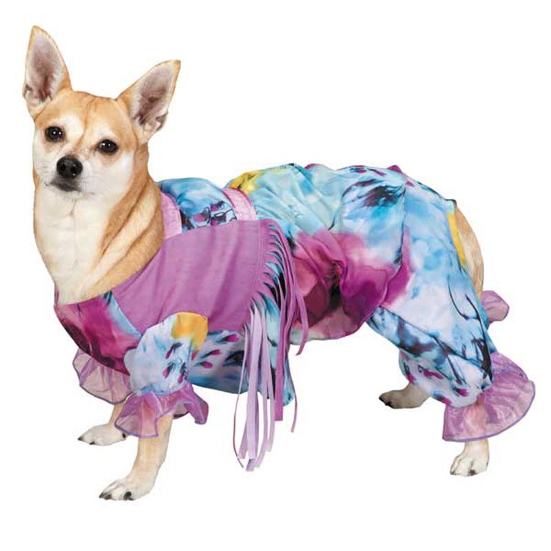Casual Canine Hippie Hounds Dog Costume
