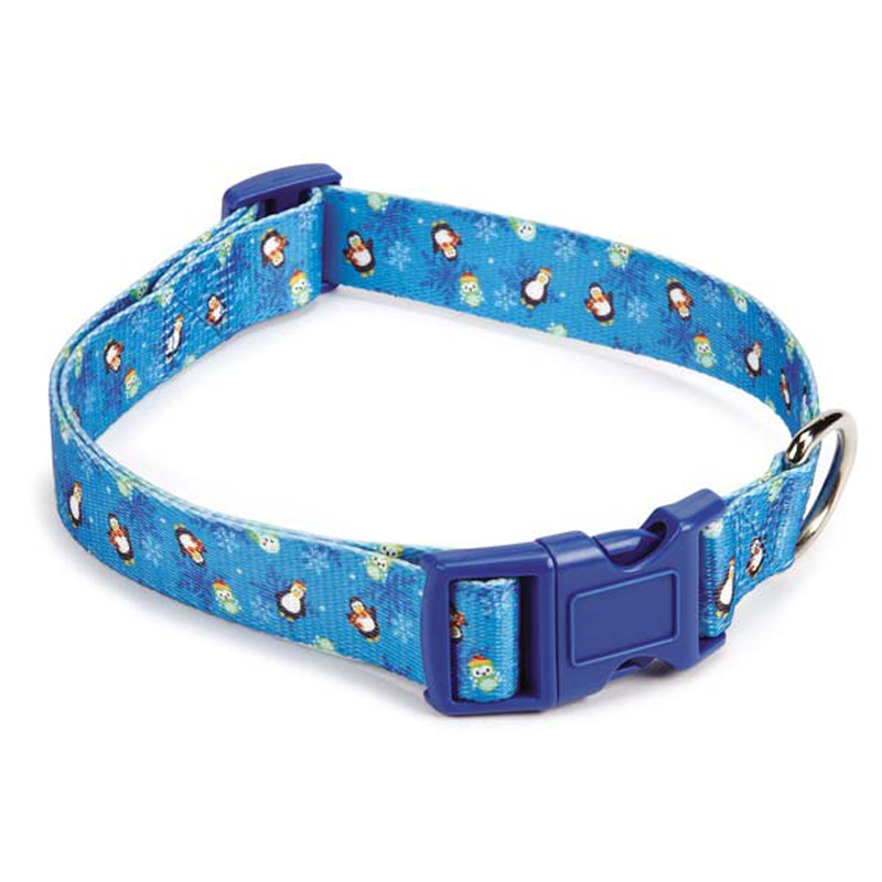 Casual Canine North Pole Pals Dog Collar