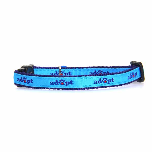 Casual Kitty Adopt Cat Collar - Blue