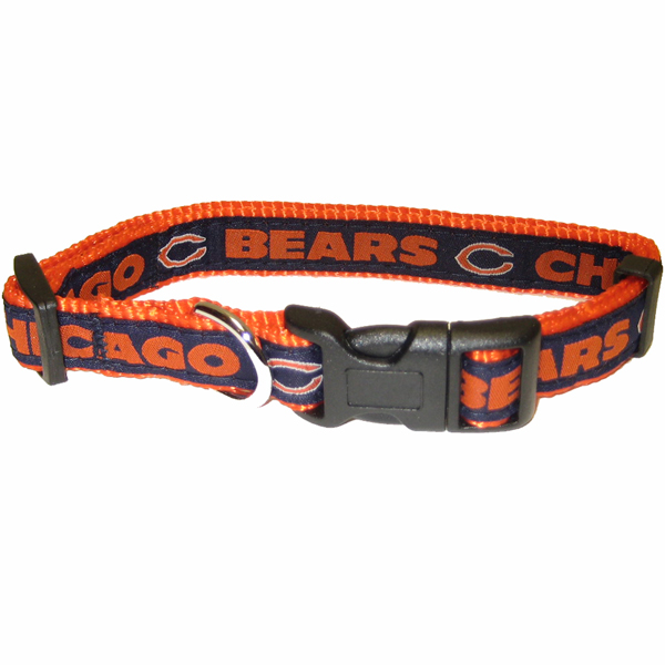 Chicago Bears Officially Licensed Dog Collar