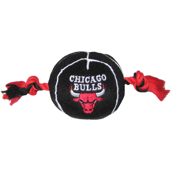 Chicago Bulls Basketball Dog Toy