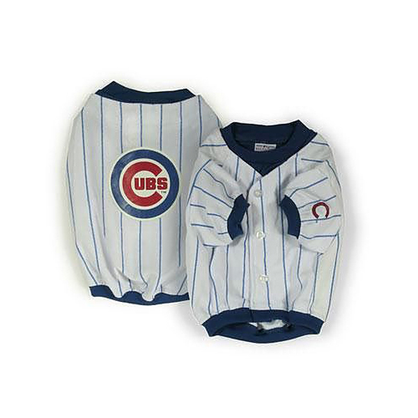 Chicago Cubs Deluxe White Dog Jersey