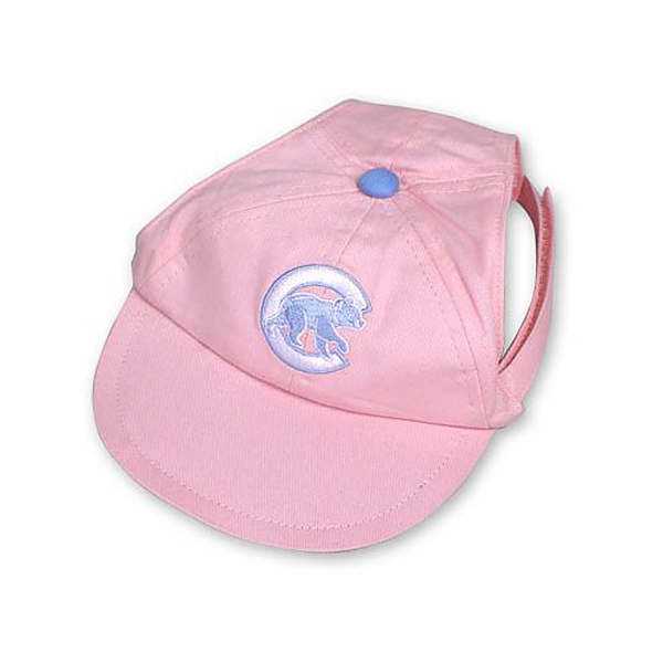 Chicago Cubs Pink Dog Hat