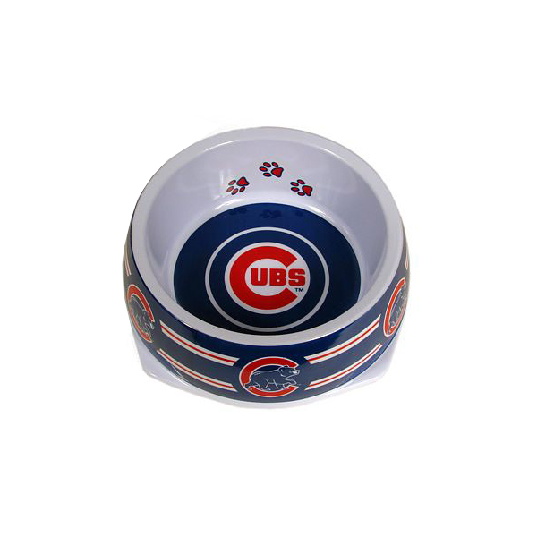 Chicago Cubs Plastic Dog Bowl