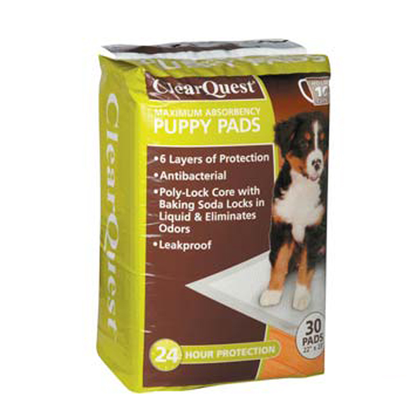 ClearQuest Maximum Absorbency Puppy Pads