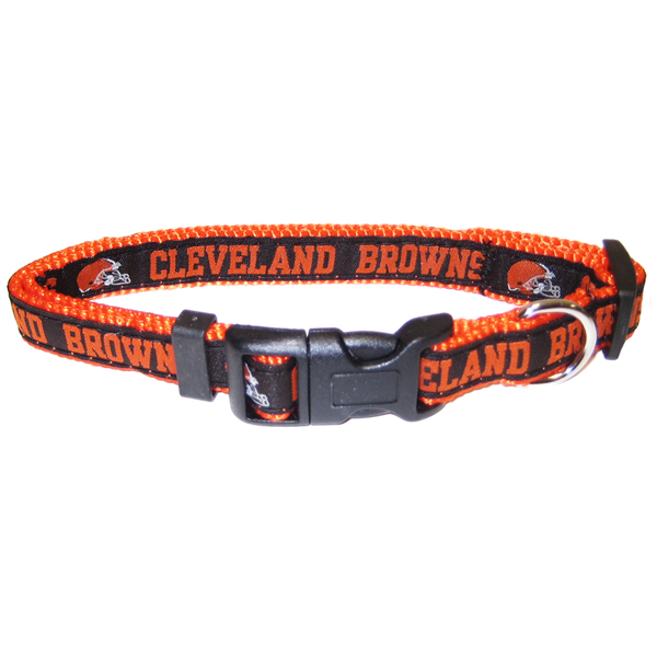 Cleveland Browns Officially Licensed Dog Collar