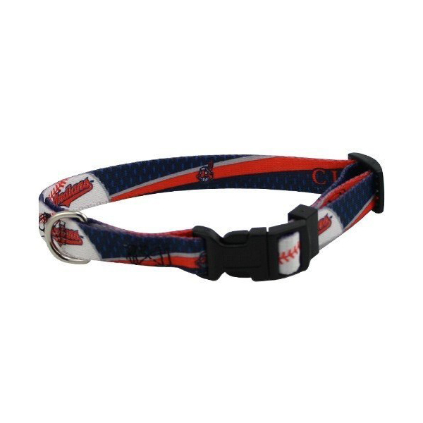 Cleveland Indians Baseball Printed Dog Collar
