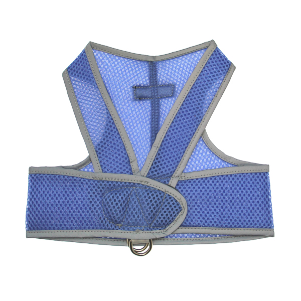 Cloak & Dawggie Sport Mesh Step-N-Go Harness - Blue