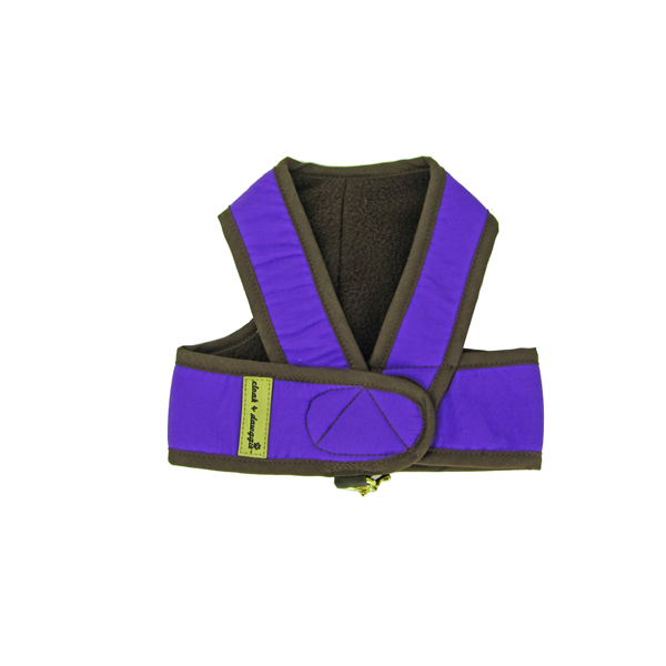 Cloak & Dawggie Step-N-Go Fleece Lined Harness - Lilac