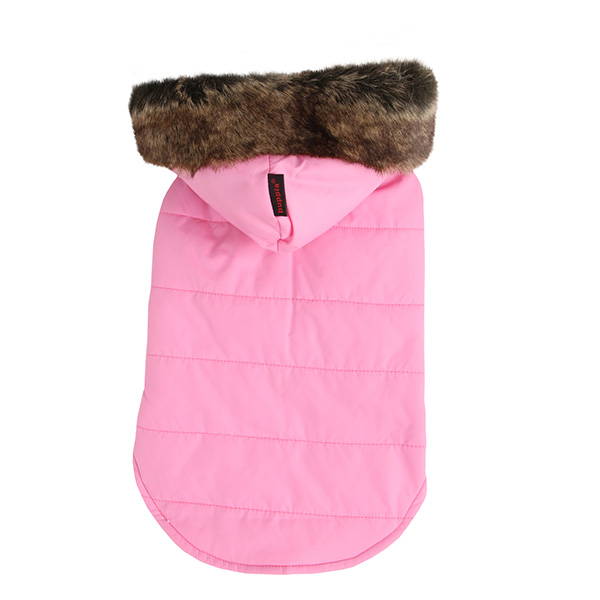 Cody Hood Dog Vest by Puppia - Pink