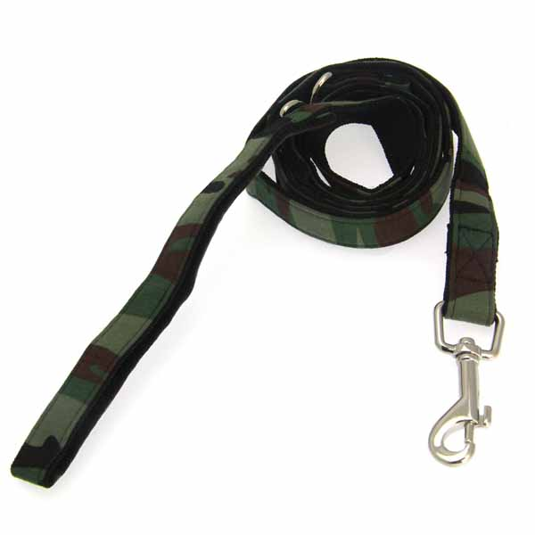 Hunter Dog Leash by Puppia - Green Camo